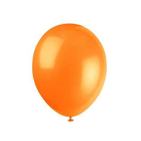 Balão Látex - 6 Polegadas - Laranja - 50 unidades