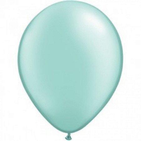 Balão Látex - 9 Polegadas - verde claro- 50 unidades
