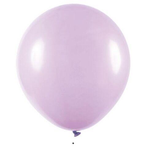 Balão Látex - 9 Polegadas - lilás candy - 50 unidades