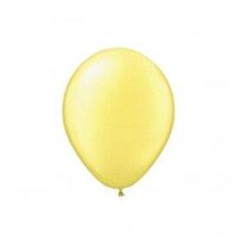Balão Látex - 9 Polegadas - Amarelo candy - 50 unidades