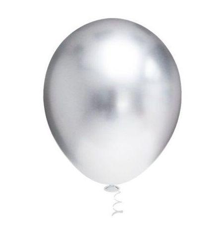 Balão metal Prata N° 9
