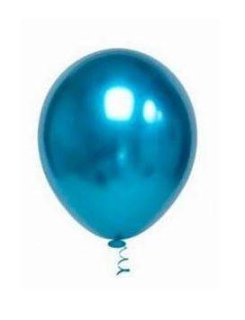 Balão Cromado Azul N° 9