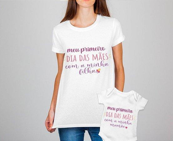 Kit 10 Dia das Mães - Camisa + Body
