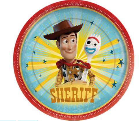 Prato de Papel - Toy Story -12 unidades