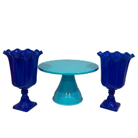 Kit Boleira - Azul - 3 unidades