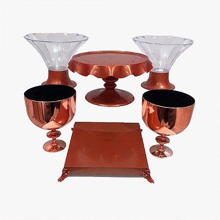 Kit Boleira- Bronze - 6 unidades
