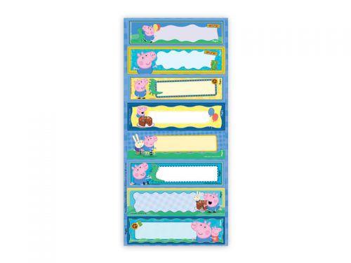 Adesivo decorativo retangular - Peppa Pig