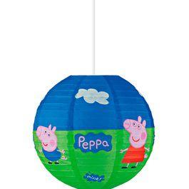 Lanterna de papel - Peppa pig - 30cm