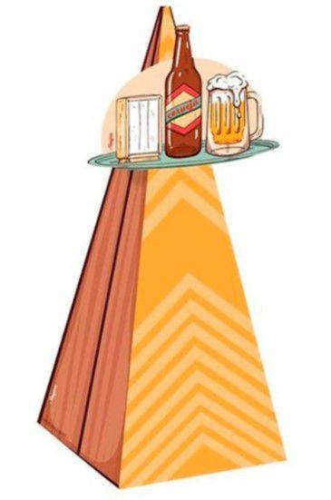 Cone com Aplique - Boteco