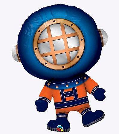 Balão metalizado - Mergulhador