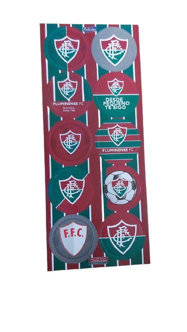 adesivo redondo - Fluminense