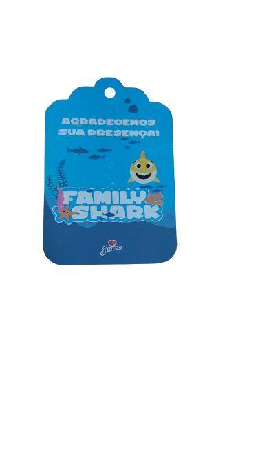 Tag de agradecimento - Baby Shark