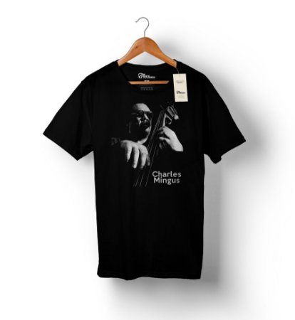 Camiseta – Charles Mingus – Preta