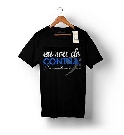 Camiseta – Sou do contra – Preta