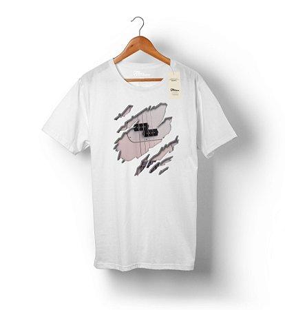 Camiseta Baixista Sincero - Precision