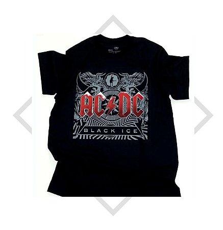 Camiseta ACDC - Black Ice