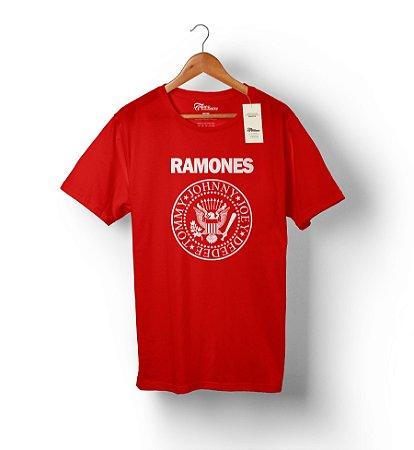 Camiseta Ramones Vermelha