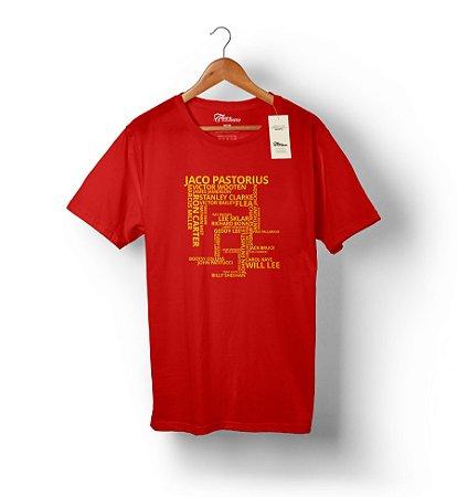Camiseta Bassists
