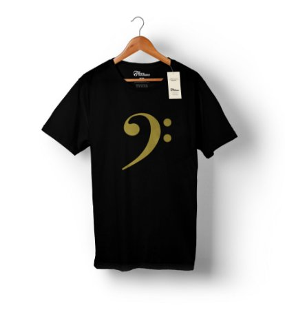 Camiseta linha Gold - Clave de Fá