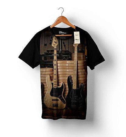 Camiseta Full Print - Fender 1