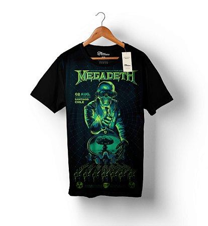 Camiseta Full Print - Megadeth 1