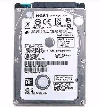 HD 500GB Sata 2,5 HGTS 6GB Notebook