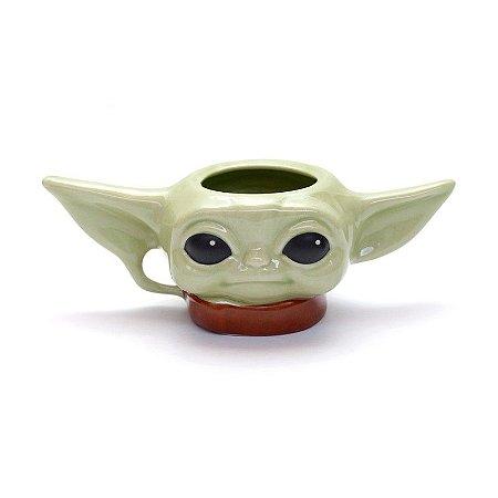 Caneca Formato 3d Baby Yoda Star Wars Disney Mandalorian