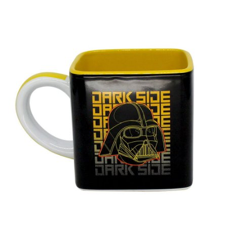 Caneca Buck Filme Star Wars Dark Side Geometric Darth Vader
