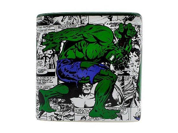 Caneca Cubo Hulk Vingadores Bruce Banner Avengers Marvel