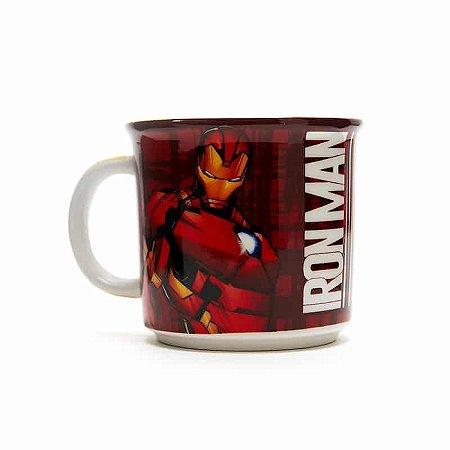 Caneca Tom Homem De Ferro Tie Die 350ml Avengers Iron Man