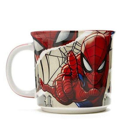 Caneca Tom Spider Man Homem Aranha Hq Paginas Vingadores