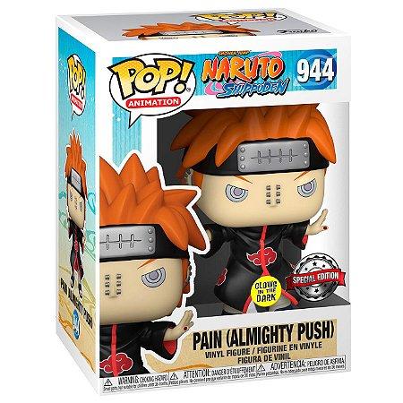 Boneco Funko Pop Naruto Shippuden Pain 944 Edição Especial