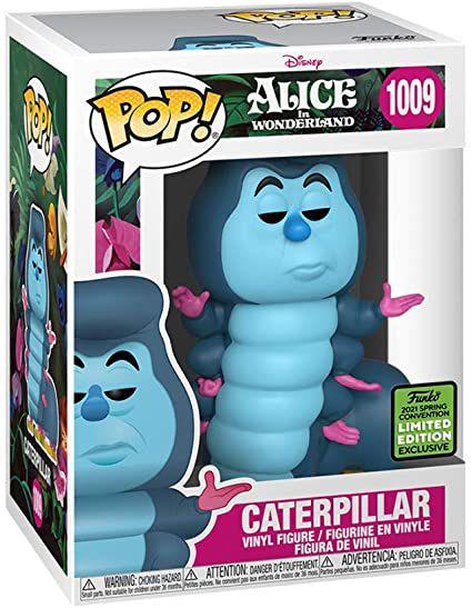 Boneco Funko Pop Disney Caterpillar 1009 Alice In Wonderland