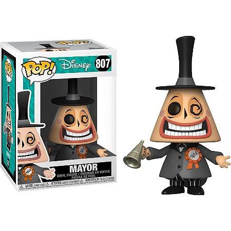 Boneco Funko Pop Disney Mayor 807 Mundo Estranho De Jack