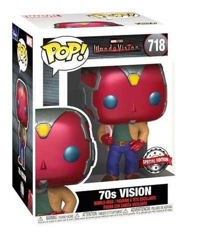 Boneco Funko Pop Movies Wanda Vision 70s 718 Marvel Comics