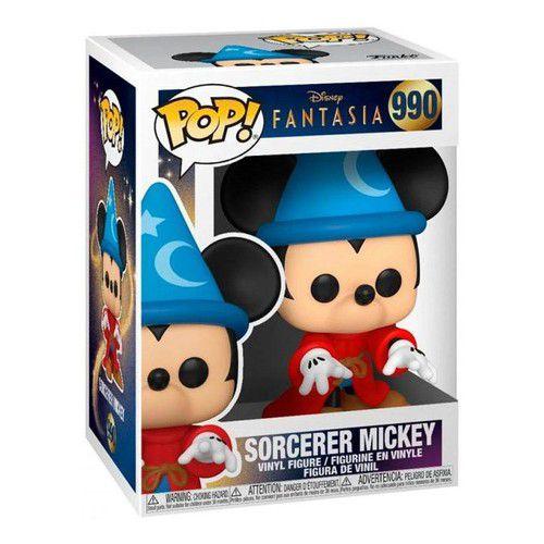 Boneco Funko Pop Disney Fantasia Sorcerer Mickey Mouse 990