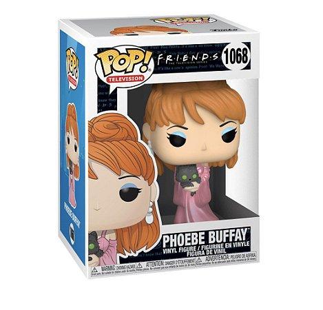 Boneco Funko Pop Tv Serie Friends Phoebe Buffay 1068 C/ Gato