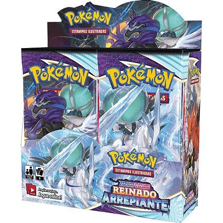 Carta Pokémon Booster Box Espada Escudo 6 Reinado Arrepiante