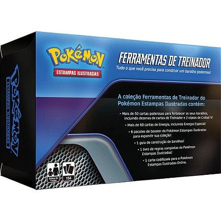 Box Pokemon Coleçao Ferramentas Treinador Copag Tcg