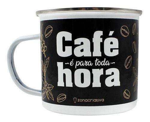 Caneca Tom Agata Bebida Frase Cafe Para Toda Hora