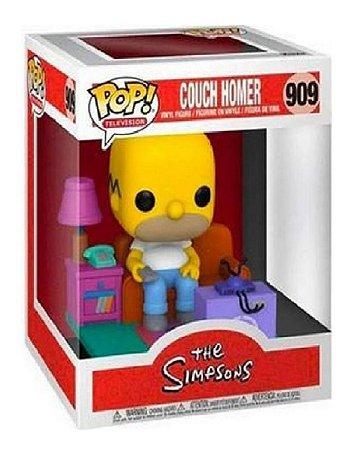 Boneco Funko Pop Television Simpsons Homer 909 Assistindo Tv