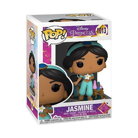 Boneco Funko Pop Disney Princesas Jasmine 1013 Aladim Jafar