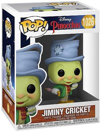 Boneco Funko Pop Disney Pinoquio Jiminy Cricket Jimmy 1026