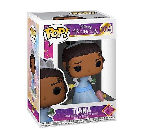 Boneco Funko Pop Walt Disney Store Princesas Tiana 1014 Sapo