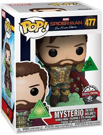 Boneco Funko Pop Marvel Spider Man Homem Aranha Mysterio 477