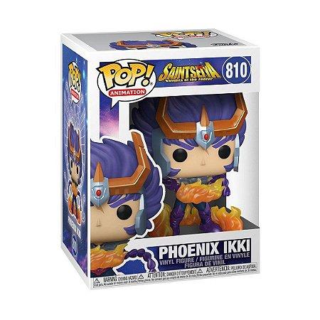 Boneco Funko Pop Anime Cavaleiros Zodiaco Phoenix Ikki 810