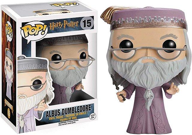 Boneco Funko Pop Alvo Dumbledore 15 Professor Harry Potter