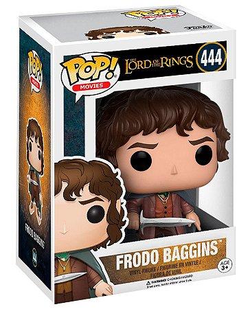 Boneco Funko Pop Frodo Bolseiro 444 Senhor Dos Aneis Hobbit