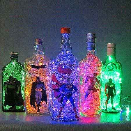 Luminárias DC Comics Liga da Justiça