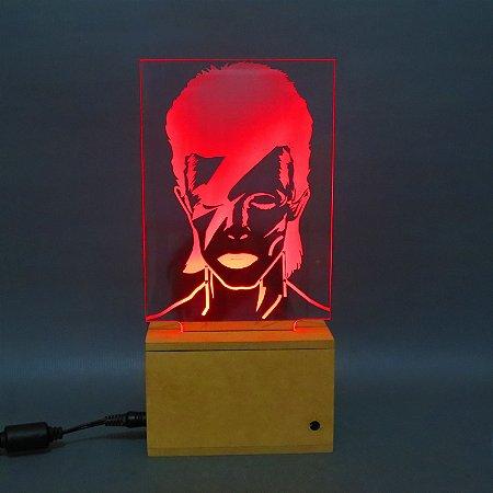 Luminária David Bowie
